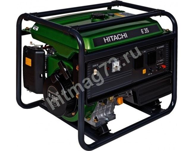 Генератор бензиновый Hitachi E35