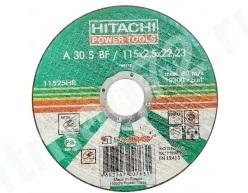 Круг отрезной 115Х2,5Х22 А30 HITACHI металл (Россия)