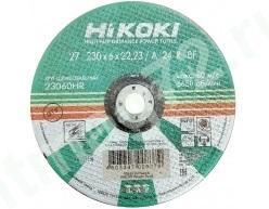 Круг зачистной металл 230  Х 6 Х 22  А24 HITACHI (Россия)