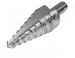 Ступенчатое сверло по металлу D.BOR6,0-30,0х2,0/100 мм