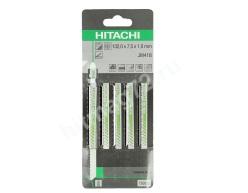Пилки Hitachi для лобзика, металл, оргстекло, пластик JM41B (Швейцария) 5 шт.