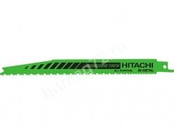 Пилки Hitachi для сабельной пилы, дерево, металл (Швейцария) 5шт.