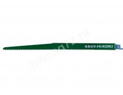 Пилки Hitachi/HIKOKI для сабельной пилы  (5шт) (По твердому дереву, дерево с гвоздями, фанере, пластику)