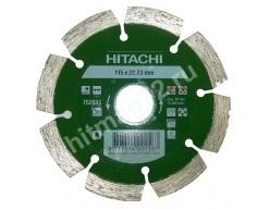 Алмазный диск Hitachi 115х22.2х10 Универсальный Laser