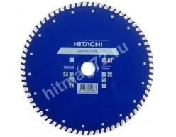 Алмазный диск Hitachi 230х22.2х6 Turbo (Керам.плитка,бетон,кирпич)-Япония