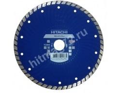 Алмазный диск Hitachi 180х22.2х6 Turbo (Гранит, мрамор, керамическая плитка, бетон)