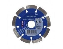 Алмазный диск Hitachi 115х22.2х10 Concrete Laser (Бетон, кирпич, железобетон, известняк)