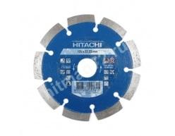 Алмазный диск Hitachi 125х22.2х10 Concrete Laser (Профессиональный) (Бетон, кирпич, железобетон, известняк)