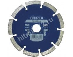 Алмазный диск Hitachi 150х22.2х10 Concrete Laser (Бетон, кирпич, железобетон, известняк)
