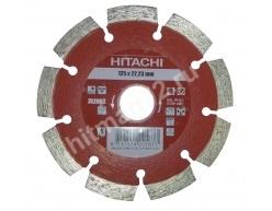 Алмазный диск Hitachi 125х22.2х10 Abrasive Laser Кирпич, известняк, асфальт, бетон)