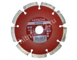 Алмазный диск Hitachi 150х22.2х10 Abrasive Laser (Кирпич, известняк, асфальт, бетон)