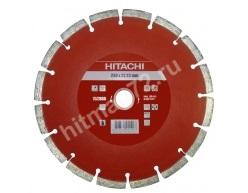 Алмазный диск Hitachi 230х22.2х10 Abrasive Laser Premium (Бетон, Железобетон, Кирпич, Гранит, Известняк, Асфальт)
