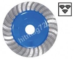 Алмазная шлифовальная чашка Hitachi 125х22,2х20 PW (Турбо) Япония (Бетон,кирпич,мрамор,гранит)