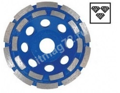 Алмазная шлифовальная чашка 115х22,2х8 HitachiDD (Двурядная), кирпич, бетон