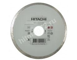 Алмазный диск Hitachi 125x22,2x5 TYPE TILES (Керамическая плитка)
