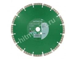 Алмазный диск Hitachi (Гранит,Мрамор,Железобетон,Бетон) Ø 300X20,00(25,4)Х11,5 (Премиум)