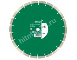 Алмазный диск Hitachi 350X25,40мм по бетону (Универсальный)