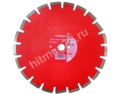 Алмазный диск Hitachi 350X25,4мм по асфальту-бетону