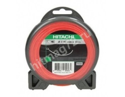 Леска для триммера Hitachi спираль 2,4мм X 15м (Франция)