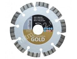 Алмазный диск Hitachi 125x22,23 мм GOLD для универсального использования